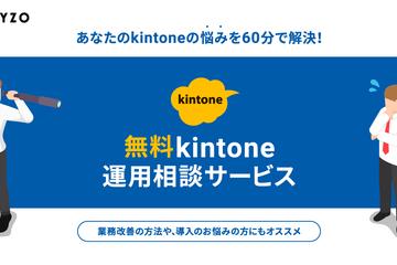 無料kintone運用相談サービス