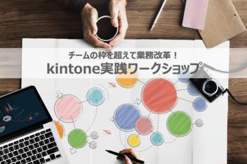 チームの枠を超えて業務改革! kintone実践ワークショップ